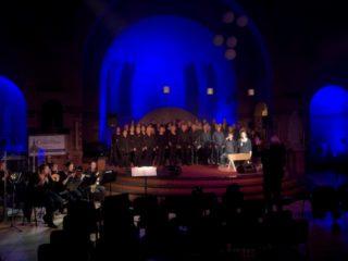 Licht en geluid voor kerk musical