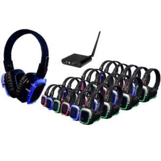 Silent Disco - 100 koptelefoons met 1 zender