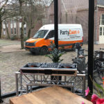 Speakers DJ set truss booth huren